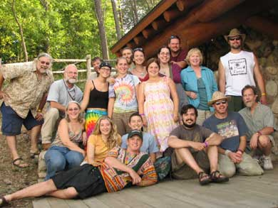 Group photo of our Wheatland Music Festival friends