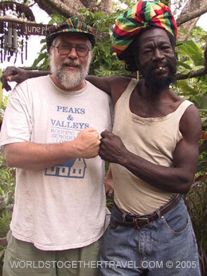 Jamaican rasta guesthouse see the real jamaica caribbean er in rasta greeting m4hsunfo