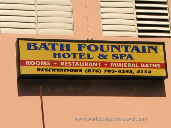 Bath Fountain Hotel And Spa Bath Jamaica